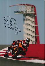 Colin Edwards mano firmado NGM Mobile adelante carreras 12x8 Foto MotoGP 2.