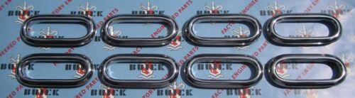 Ventiports 1950 Buick Roadmaster Front Fender Portholes Set of 8