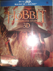 The-Hobbit-An-Unexpected-Journey-Blu-ray-3D-Steelbook-Korea-version-New-Sealed