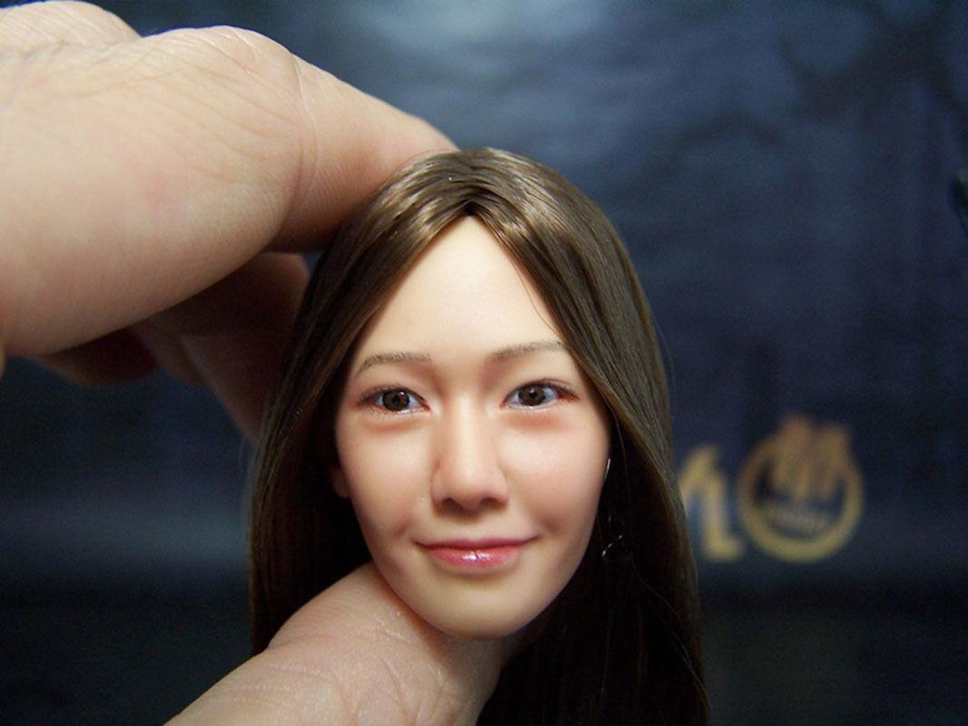 New KUMIK Oriental Beauty Female HEADPLAY HEADPLAY HEADPLAY 005NP Hair Implants 4143ab
