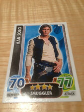 STAR WARS Force Awakens - Force Attax Trading Card #003 Han Solo