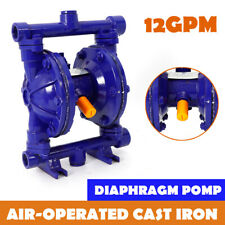 Air Operated Double Diaphragm Pump 1 12 In Ampoutlet For Industrial 12gpm 115psi