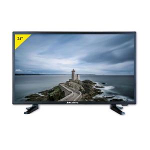 TV LED 24 POLLICI MAJESTIC HD/T2/S2/USB NO DVD - 220/12V - CAMPER ROULOTTE