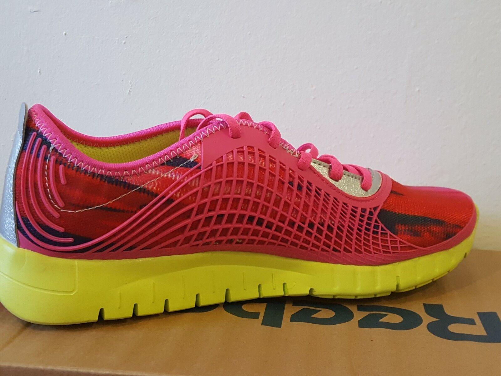fcb85fcdcc ... Reebok Z Goddess Goddess Z Glitch M44667 rosado amarillo-Plateado para Mujer  Zapatos Para Correr ...