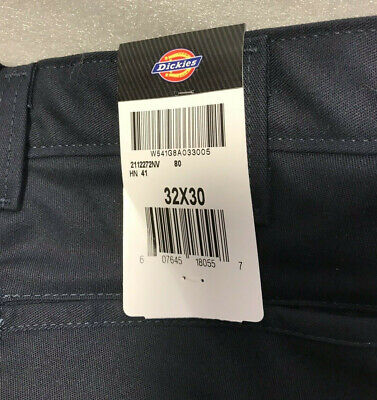 Genuine Dickies Work Pants Relaxed Fit Straight Leg Multi-use Pockets