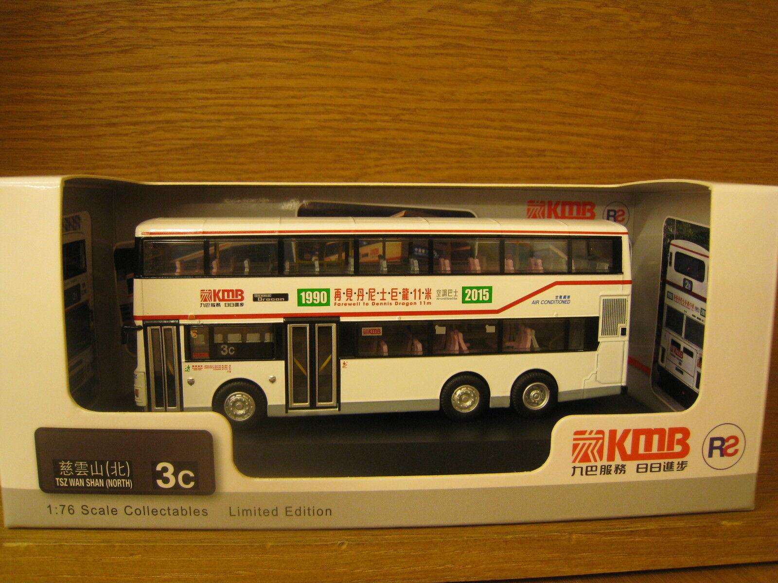 HONG KONG KMB BUS DENNIS DRAGON AIR-COND 11m  Farewell  AD336 Route  3C