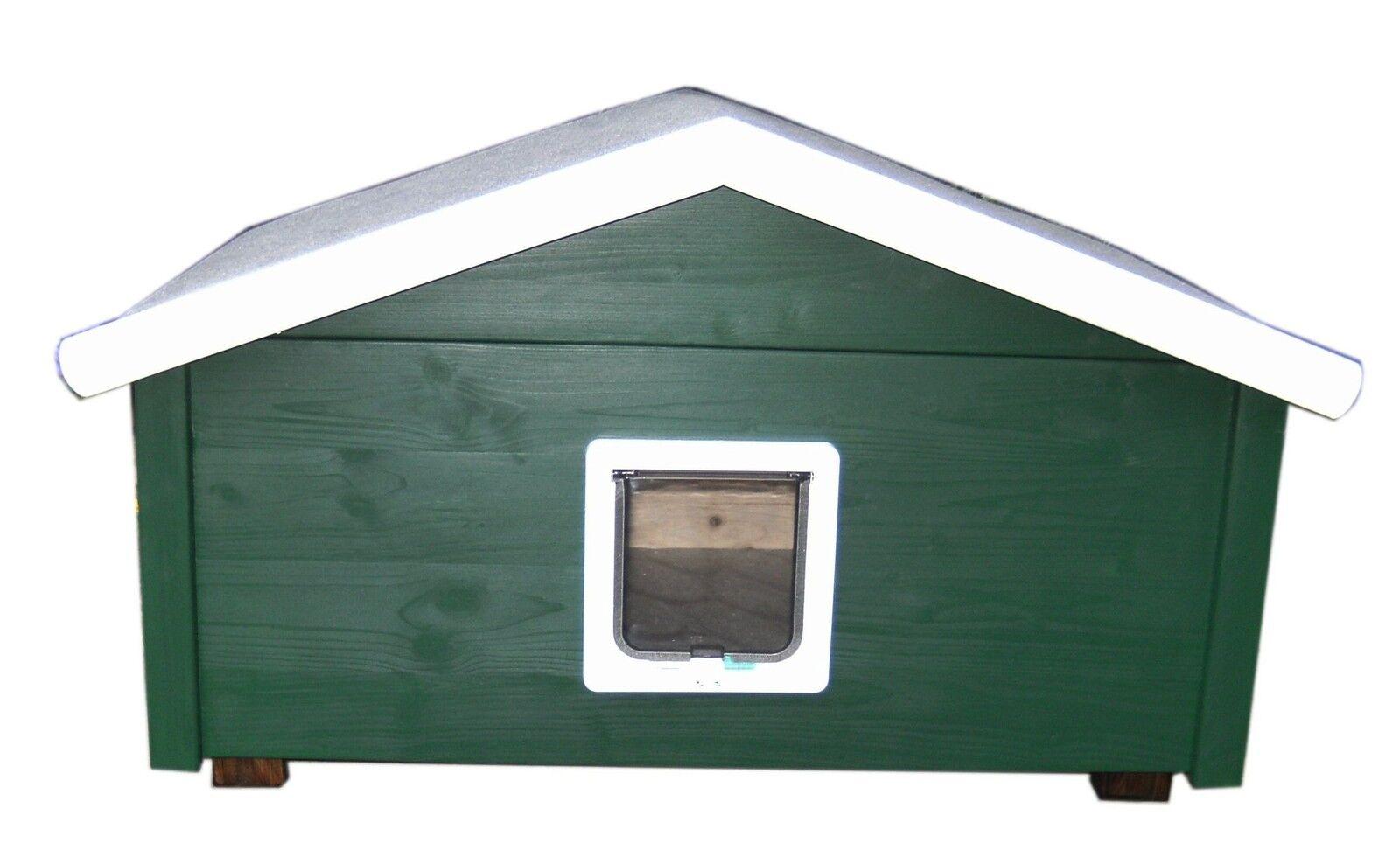 edizione limitata Outdoor gatti casa resistente alle intemperie Landhaus con sportello per per per gatti-ts2-l  acquisto limitato
