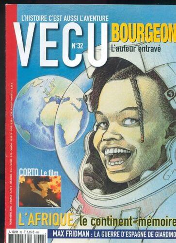 MAGAZINE-VECU-N-32-AVEC-BOURGEON-CORTO-MALTESE-L-039-AFRIQUE-TRES-BEL-ETAT