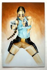 LARA CROFT Tomb Raider Comic #23 Virgin Cover Variant #113/250 Top Cow Image dt.
