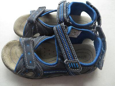 schöne blaue Sandale Kinderschuhe - Größe 29