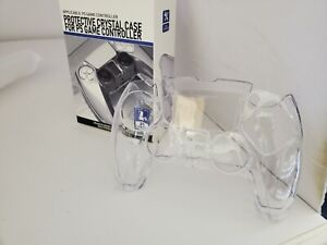 Transparent Crystal Clear Shell Case Hard Cover Protector For PS5  Controller W1