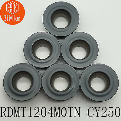 10pcs RDMT0802M0TN CY250 milling cutter carbide inserts for steel cutting tools