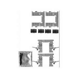 Genuine Delphi Front Brake Pad Accessory Kit - LX0579