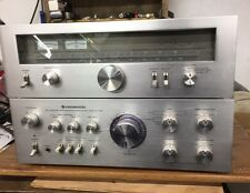 KENWOOD KA-7100 STEREO AMPLIFIER-60 W/C AND KT-7500 TUNER
