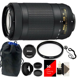 Nikon-AF-P-DX-NIKKOR-70-300mm-f-4-5-6-3G-ED-VR-Lens-Top-Accessory-Kit