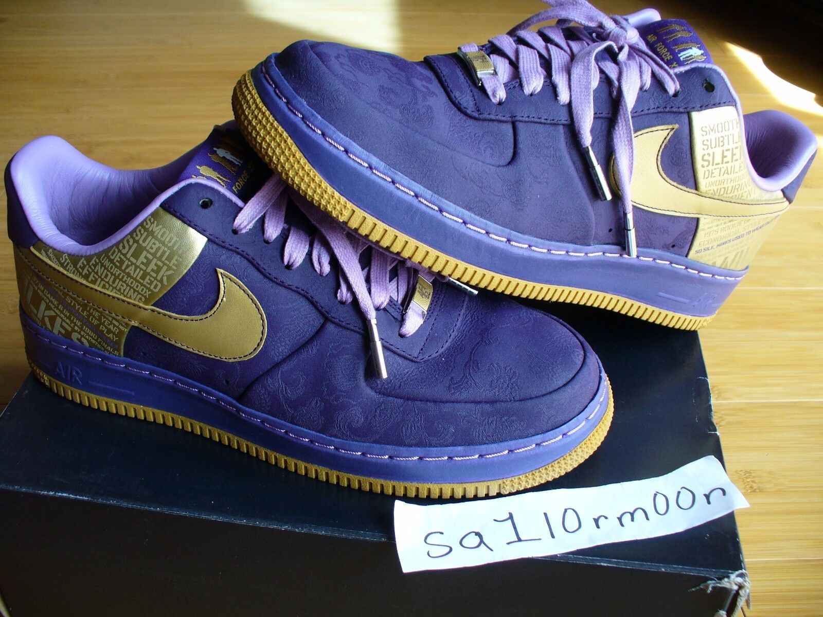 Nike Air Force 1 Supreme Wilkes 8 quick strike