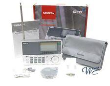 Sangean ATS-909X Shortwave FM 64-108/MW/LW/SW PLL Radio w/Earphone+Softcase+AC