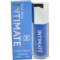 Intimate For Men By Jean Philippe - 3.3 Oz/100 Ml Edt Spray In Box - Rare