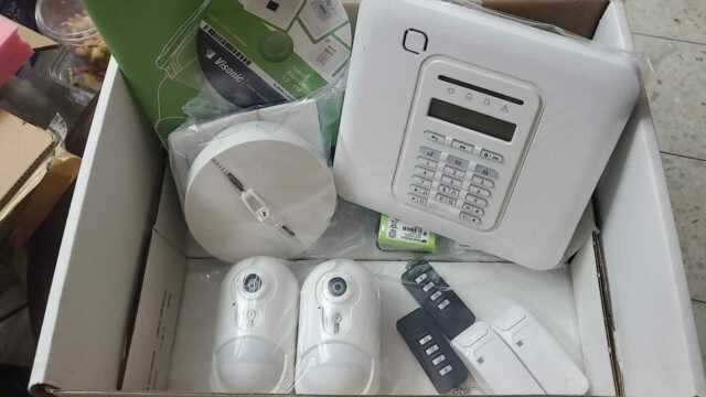 Technomate Tm Guardian Pstn Wireless 868mhz Alarm Kit Auto Dialer Notifications For Sale Ebay