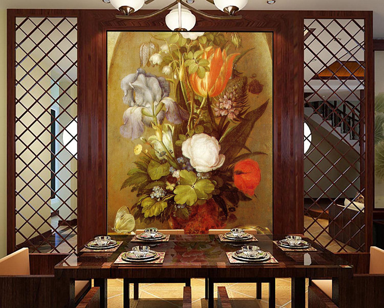 3D Florale kunst 08191 Fototapeten Wandbild Fototapete BildTapete Familie DE