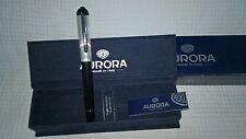 Aurora Fountain Pen  -  Penna stilografica Aurora  - C17 Idea - Silver 925 cap