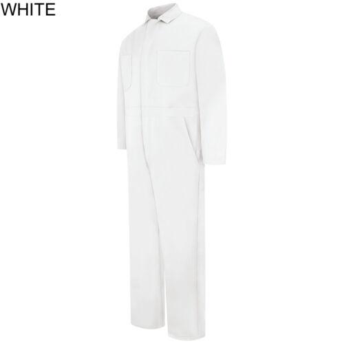 CC14 Uniform NEW Red Kap Men/'s Snap Front Cotton Work Coveralls 5 colors