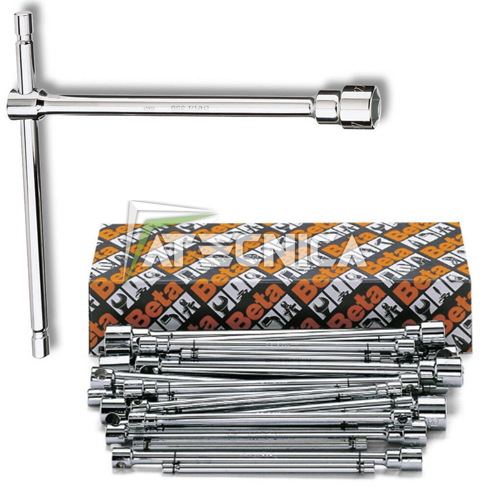 Set 9pz Schlüssel bis t fester mit Kompass hexagonal Beta 950  S9 da 7 a 19 mm