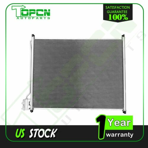 For 99-07 Ford F-350 Super Duty 6.8L-V10 New Replacement A//C Condenser Fits 4883