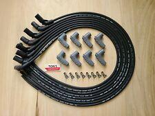 42 Gm Lt Lt1 Universal Msd Black 85mm Cut To Fit Spark Plug Wire Kit Custom