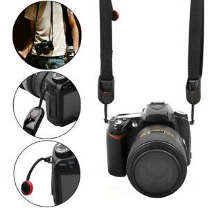 Quick Rapid Shoulder Belt Neck Strap for Nikon Canon Sony Camera SLR Green