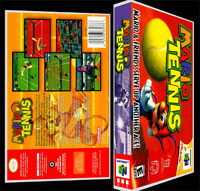 Mario Tennis - N64 Reproduction Art Case/box No Game.