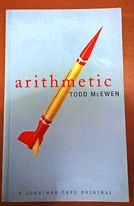 Todd-McEwen-Arithmetic-UK-1-1-PBO-Jonathan-Cape-1998-Signed-by-author