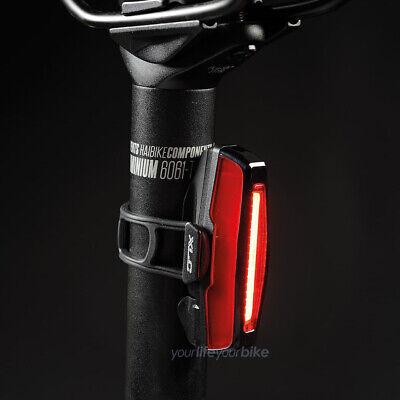 XLC BIANCA 1W LED RÜCKLICHT Batterien STVO RÜCKLEUCHTE FAHRRAD LICHT HINTERLICHT