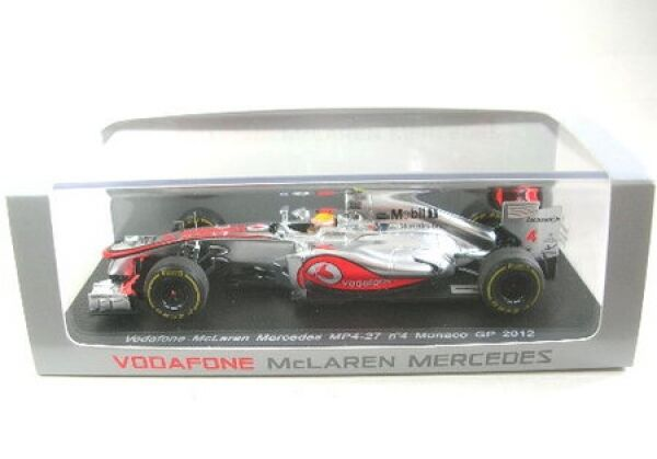 Mclaren MP4-27 no. 4 l.hamilton monaco gp 2012