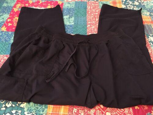 ScrubStar Women's Nurse Scrub Pants 3XL Indigo Blu