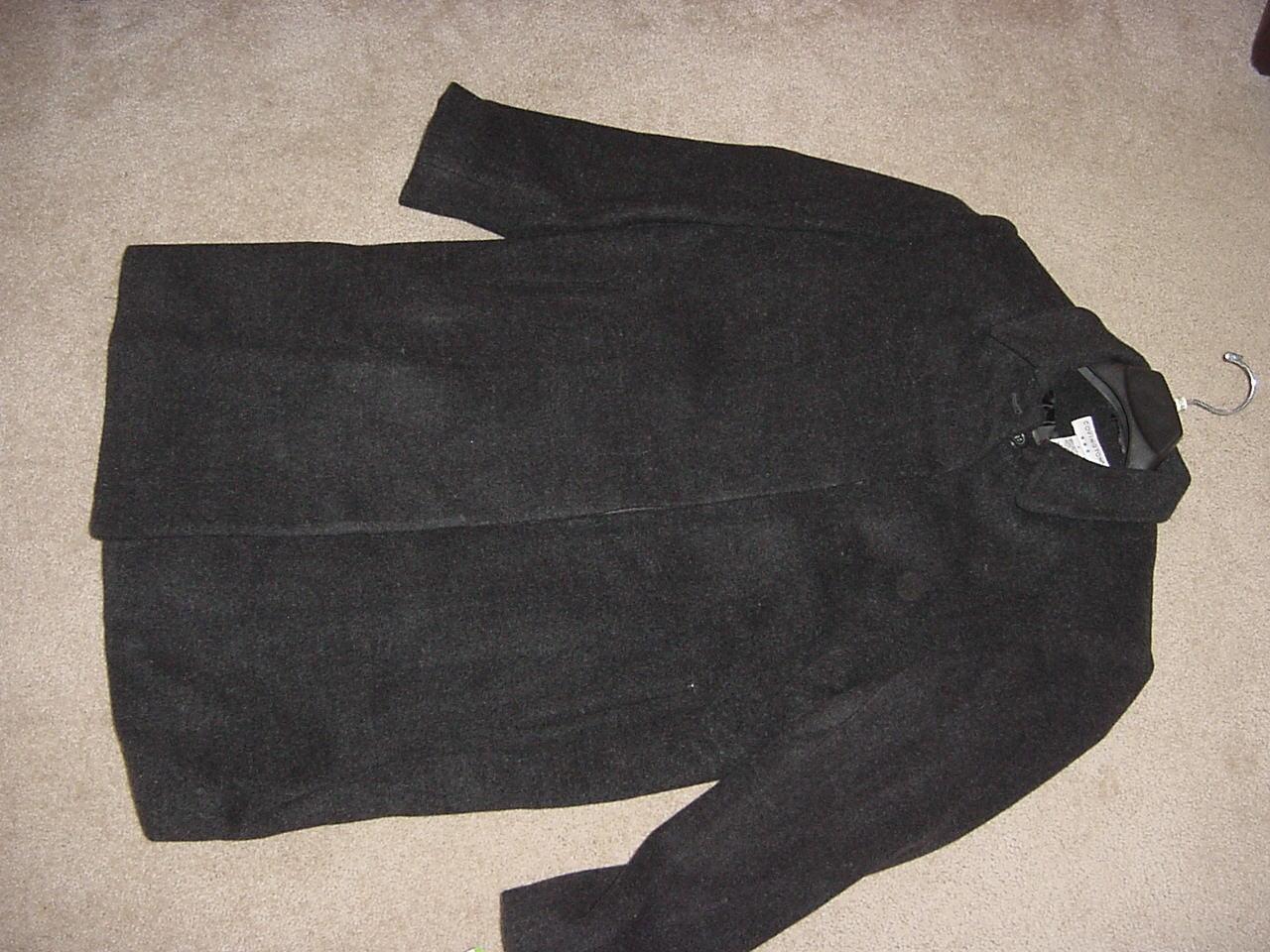Misses CharWalker- Covington- Wool - Charcoal Coat- Coat- Coat- NEW 3e9912