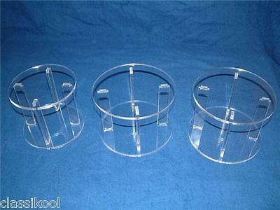 Classikool 3 Tier Traditional Wedding Cake Separator Display Stand