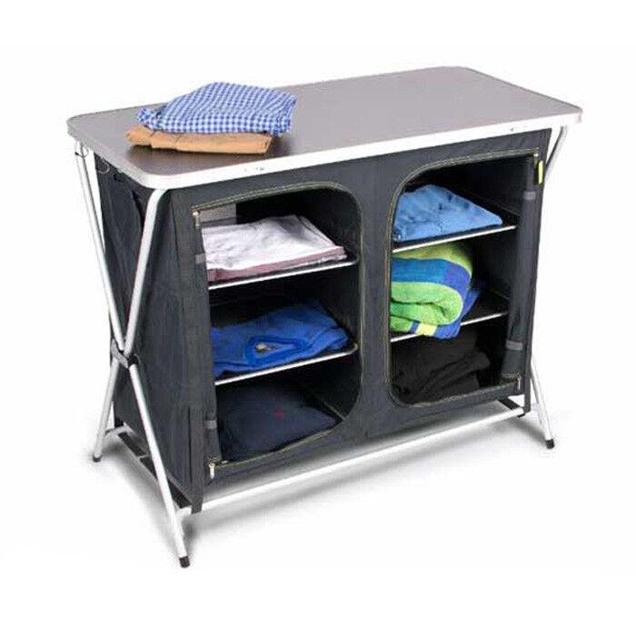 Kampa Zara Camping Clothes Storage Cupboard