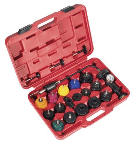 Sealey VS001 Système De Refroidissement Testeur Cap System
