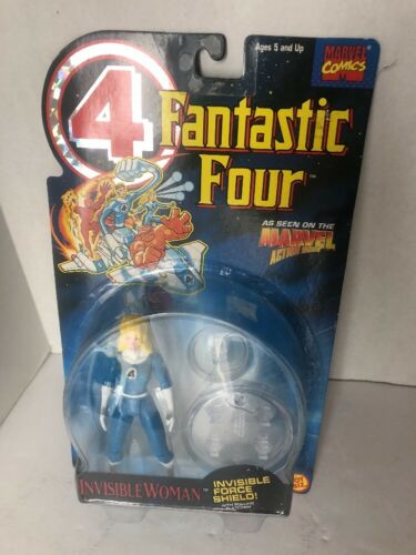 1995 Toy Biz Action Figure Marvel Comics Fantastic Four Invisible Woman