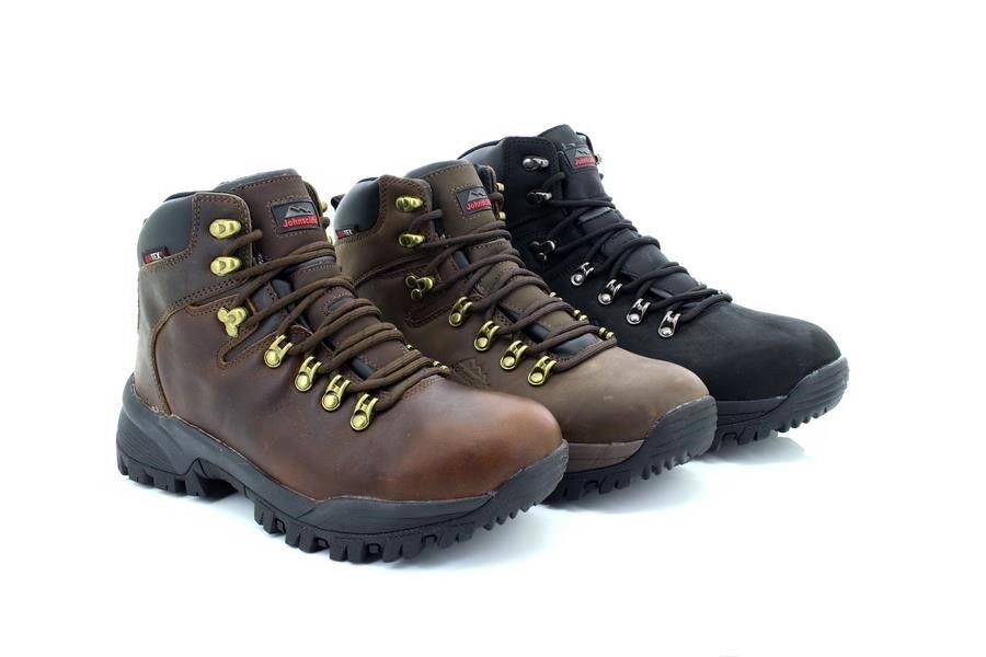 Johnscliffe CANYON Unisex Leather Jontex Hiking Boots