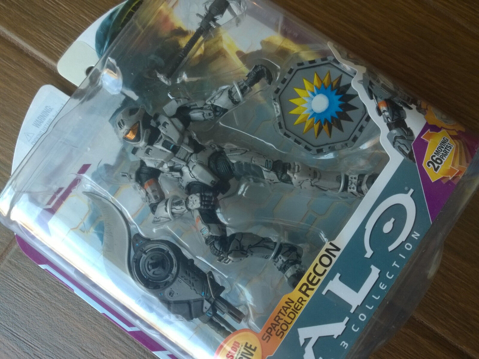 Gamestop exclusive Halo 3 Series 6  Steel Recon  Action Figure Xbox 360 new MINT