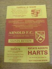 05/01/1984 Arnold v Eastwood Town [Nottinghamshire Senior Cup] .  Thanks for vie