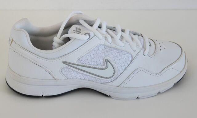 Nike Steady VIII Womens White Leather Crosstraining Shoes - NWD* - Size 5 - 12 M