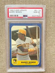 1986-Fleer-Update-14-Barry-Bonds-Rookie-Card-PSA-10-Gem-Mint-Pittsburgh-Pirates
