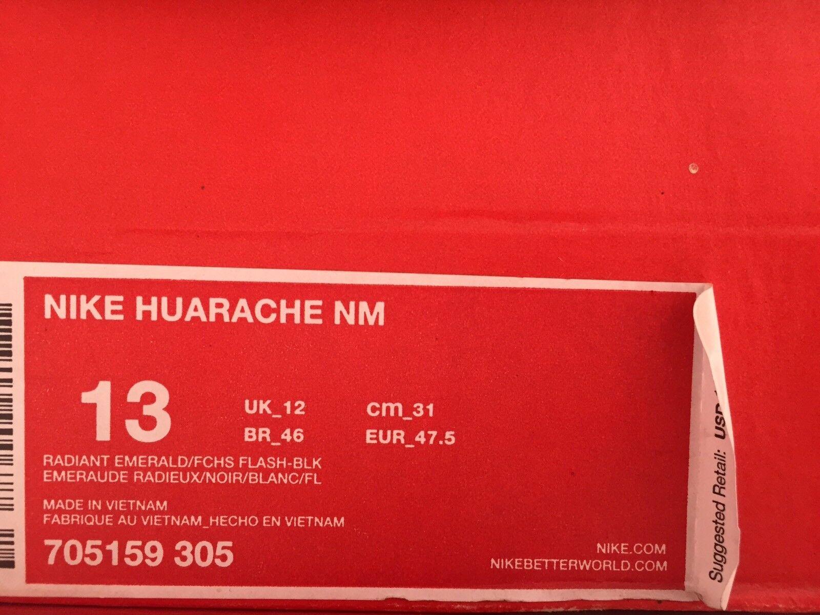 nike huarache émeraude nm 13 vert émeraude huarache violet blanc courir 705159-305 multicolore fuchsia 737fda