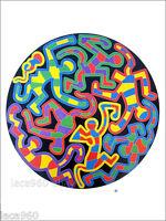Keith Haring Monkey Puzzle Grafitti Urban Style Poster
