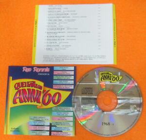CD-Compilation-Quei-Favolosi-Anni-039-60-1968-8-CRISTINA-D-039-AVENA-JANNACCI-no-lp-C18