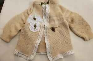 New-Jacket-IN-Shabby-Style-For-Approx-15-11-16-19-11-16in-Bear-Or-Doll