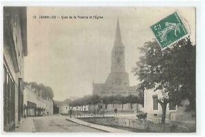 71-CHAROLLES-QUAI-DE-LA-POTERNE-ET-EGLISE